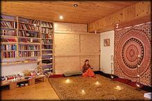 Meditační centrum Lažánky, tantra jóga pro ženy - interiér
